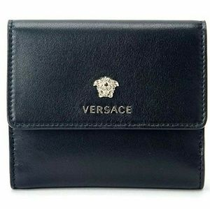 Versace Bags - Versace Medusa Leather Signature French Wallet